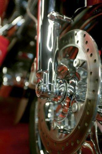 Klock Werks Lower Fork Leg Axle Cap Chrome for Harley Davidson FL 00-10 ()