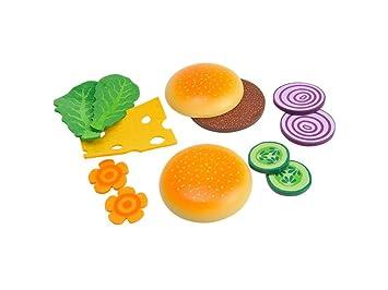 Holz Burger 12 Teilig Amazon De Spielzeug