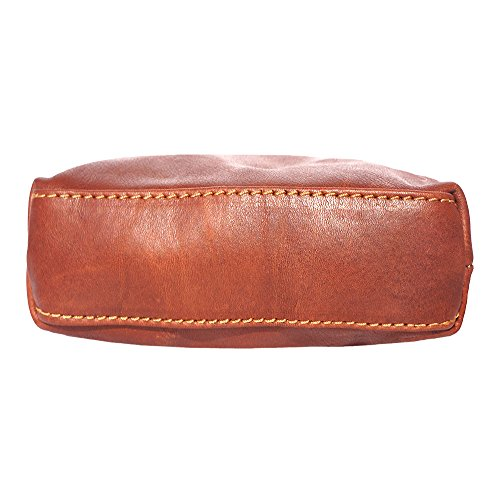 leather Brown Mini Mini 8609 cross soft unisex body body bag unisex cross soft leather bag Un8Agq