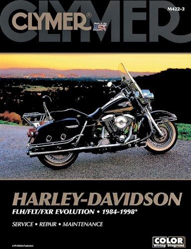 Clymer Harley-Davidson FLH/FLT/FXR Evolution (1984-1998) (53145) by Clymer (Image #2)