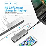 EKSA USB C Hub, 11 in 1 USB Type C Multiport