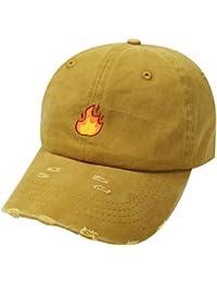 e173cc18c68 Amazon.com  Yellows - Baseball Caps   Hats   Caps  Clothing