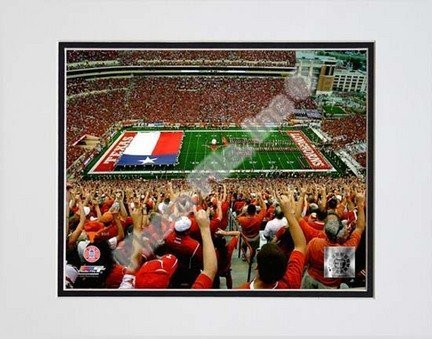"Universität Texas Longhorns 5.102,9 cm Texas Memorial Stadium ""Double mattierte 20,3 x 25,4 cm Foto (ungerahmt) von Foto Datei"