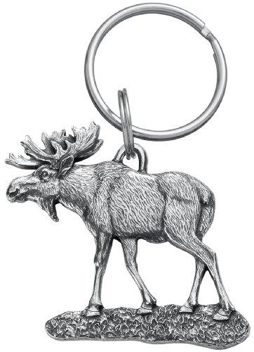 Danforth - Moose Pewter Keyring