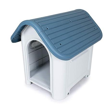 Pet S Solution Detalles Sobre caseta para Perros PVC L 59 cm X P 75 cm