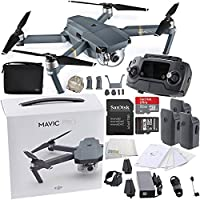 DJI Mavic Pro Collapsible Quadcopter Drone + DJI Shoulder Bag Ultimate Bundle