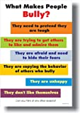 What Makes People Bully? - Classroom Motivational Poster