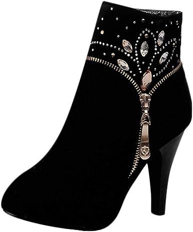 EUZeo_Zapatos Botas Chelsea de Mujer Otoño Invierno Mujeres