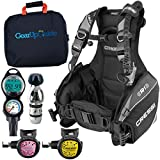 Cressi R1 BCD Leonardo Dive Computer AC2 Compact Regulator Set GupG Reg BagScuba Diving Package Pink Reg S