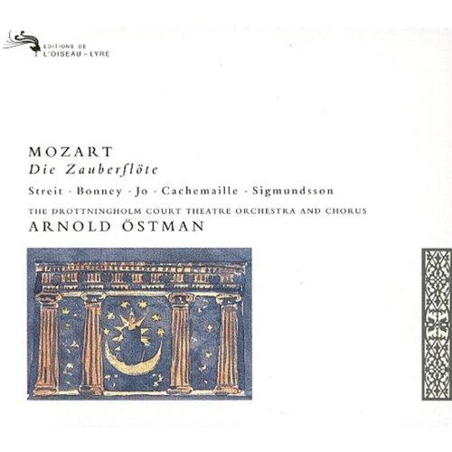 Mozart: Die Zauberflte / Streit  Bonney  Jo  Cachemaille  Sigmundsson  Hagegard  Drottningholm Court Theatre  stman