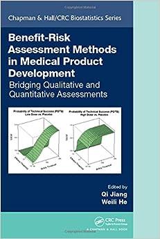 Benefit-Risk Assessment Methods in Medical Product Development: Bridging Qualitative and Quantitative Assessments (Chapman & Hall/CRC Biostatistics Series)