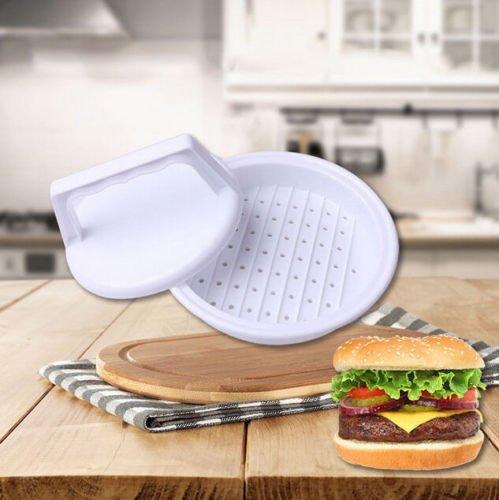 Price comparison product image MAZIMARK--Kitchen Beef Press US Grill NEW Cooking Plastic Burger Maker Hamburger Mold