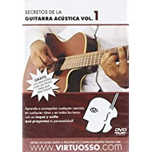 Virtuosso Acoustic Guitar Full Method in 3 DVD (Curso Completo De Guitarra Acustica En 3 DVD) SPANISH ONLY