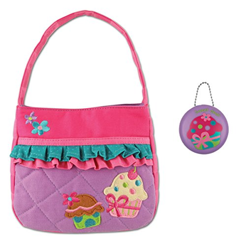 Stephen Joseph Girls Quilted Cupcake Purse and Coin Holder - Gifts for Girls