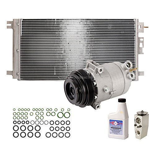 New AC Compressor & Clutch With Complete A/C Repair Kit For Chevy Malibu - BuyAutoParts 60-80507R6 New Malibu Compressor