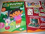 Dora the Explorer 41 Valentines & Stickers
