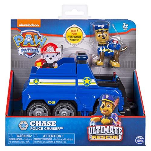Giochi Preziosi 20101537 Paw Patrol Ultimate Rescue Basic Vehicles-Rocky Recycle Truck, Multi-Coloured