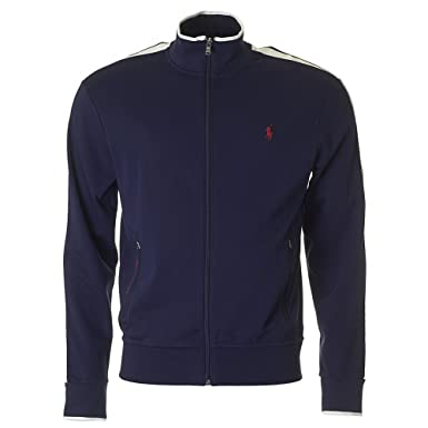 Ralph Lauren LS FZ Mock MDL Sweat French Navy  Amazon.co.uk  Clothing 0d0302e5cd6c
