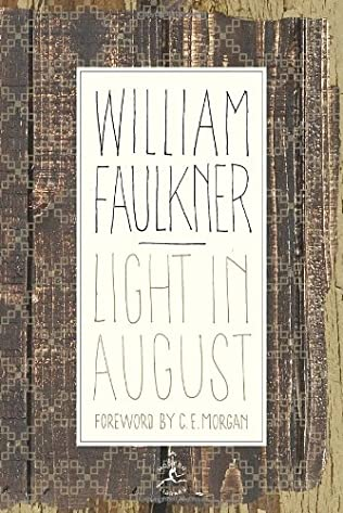 book cover of Light in August