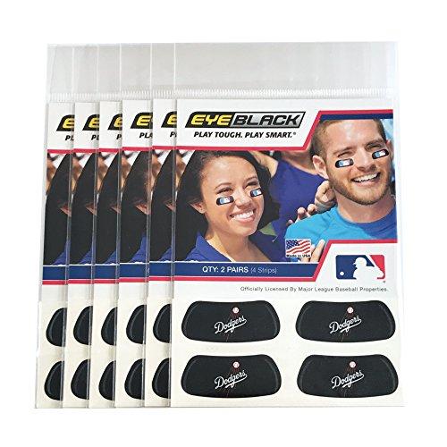 (24 Strips) Los Angeles Dodgers MLB Eye Black