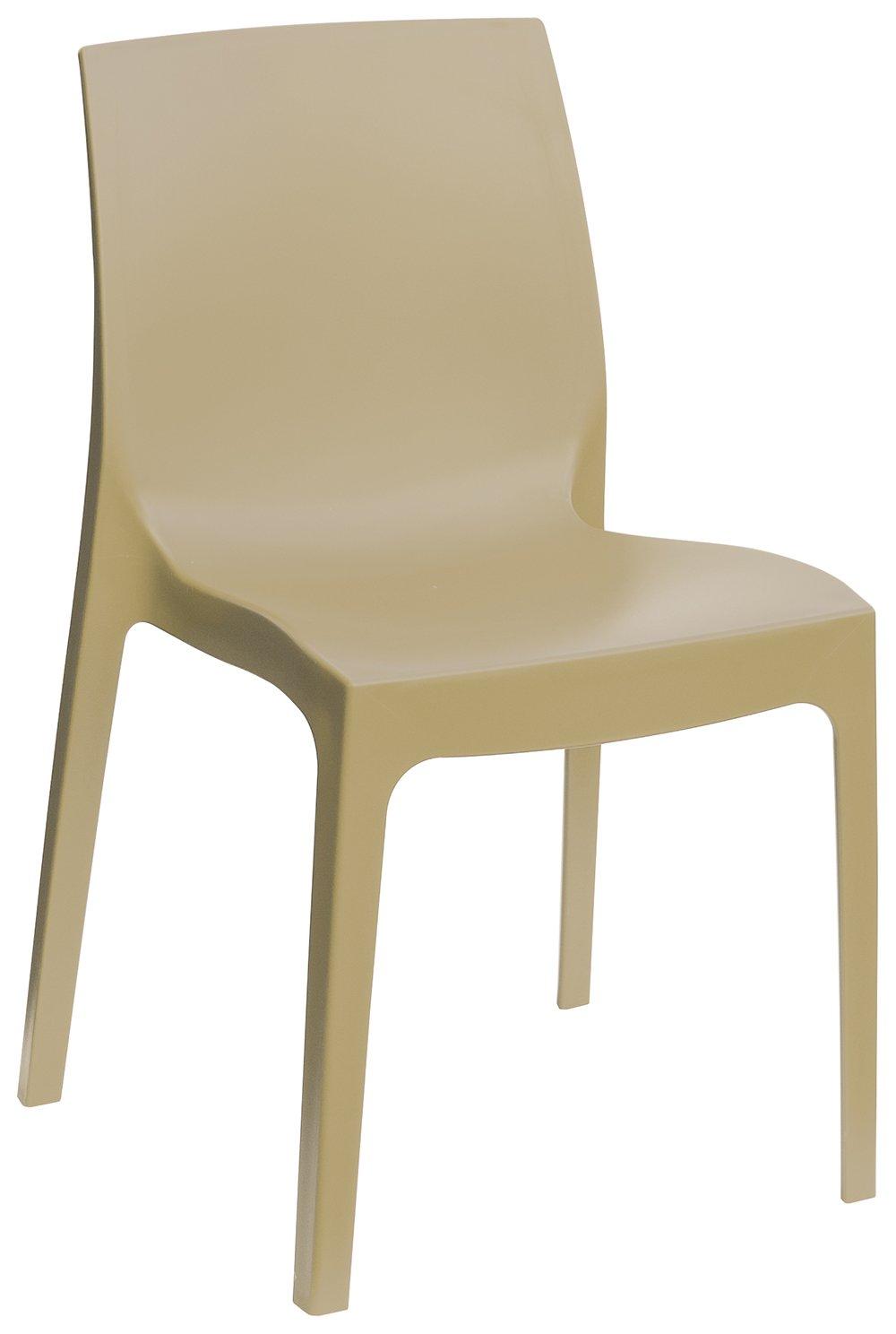 Sedia In Plastica Ufficio // Scuola Pi/ù Tavoletta Ribaltina Scrittoio Giallo KARISMA TAV. ISO POINT D//2