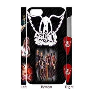 Qxhu Aerosmith patterns Protective Hard Back Fits Cover Case for Iphone4,4S 3D case