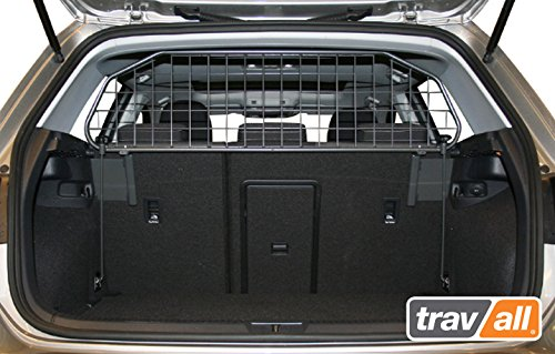 Travall Guard for Volkswagen Golf Hatchback (2012-Current) Also for Golf GTE (2014-CURRENT) TDG1409 - Rattle-Free Luggage and Pet Barrier