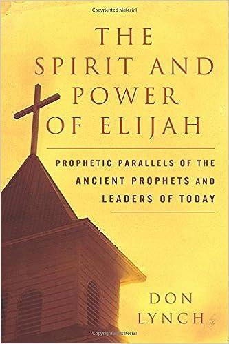 The Spirit & Power of Elijah