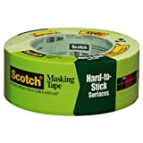 3M Masking Tape for Hard-to-Stick Surfaces, 1.88-Inch by 60-Yard