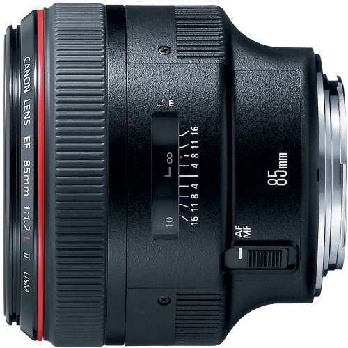 Canon EF 85mm f1 2L II USM Lens for Canon DSLR Cameras Fixedの商品画像