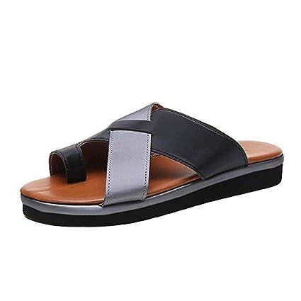 Beach Sandalias correctoras juanetes corrección Sandalias Zapatos de Viaje Punta Abierta Zapatos de Viaje Verano Playa