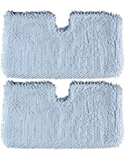 Microfiber Steam Mop Pad for Shark Steam Pocket Mop S3500 Reusable Replacement by Blue Stars - Pack of 2
