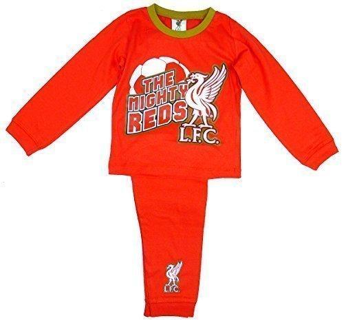 De niño Oficial Liverpool LFC Mighty Rojos bebé Pijama rallas desde 12 Meses - 4 Años
