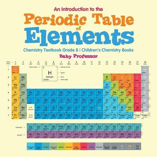 Amazon An Introduction To The Periodic Table Of Elements