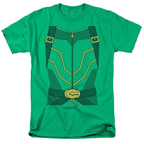 Justice League DC Comics Arrow Costume Adult Mens T-Shirt Tee (Martian Manhunter Costume)