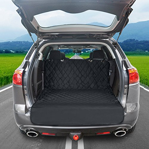 FOCUSPET Cargo Liner Cover for SUVs and Cars, Waterproof Material, Non Slip Backing Pet Seat Cover with Large Size - Universal Fit
