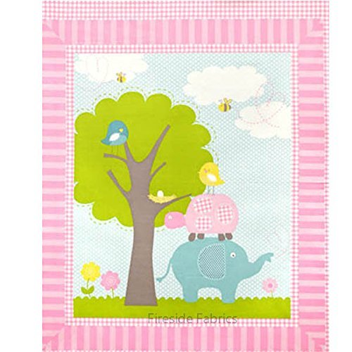 Elephant Cheater Quilting Projects Pillows product image