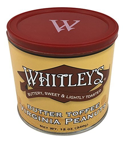 Whitley's Butter Toffee Virginia Peanuts 12 Oz.