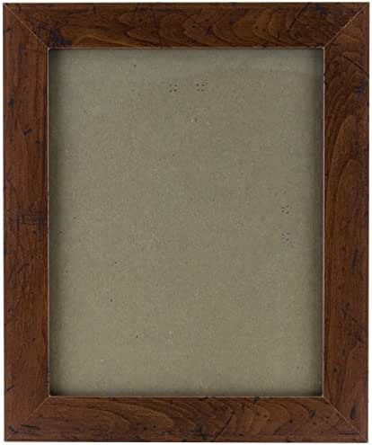 Craig Frames FM26WA0810C 1.26-Inch Wide Picture/Poster Frame in Smooth Grain Finish, 8 by 10-Inch, Dark Brown