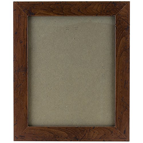 Craig Frames FM26WA1216C 1.26-Inch Wide Picture/Poster Frame in Smooth Grain Finish, 12 by 16-Inch, Dark - Walnut Frame Picture