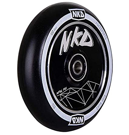 nkd Hollow-Core - Rueda para Patinete (100 mm), Color Negro ...