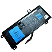 LQM® 11.1V 69Wh G05YJ New Laptop Battery for Dell Alienware 14 A14 M14X R4 14D-1528 ALW14D 0G05YJ Y3PN0 8X70T