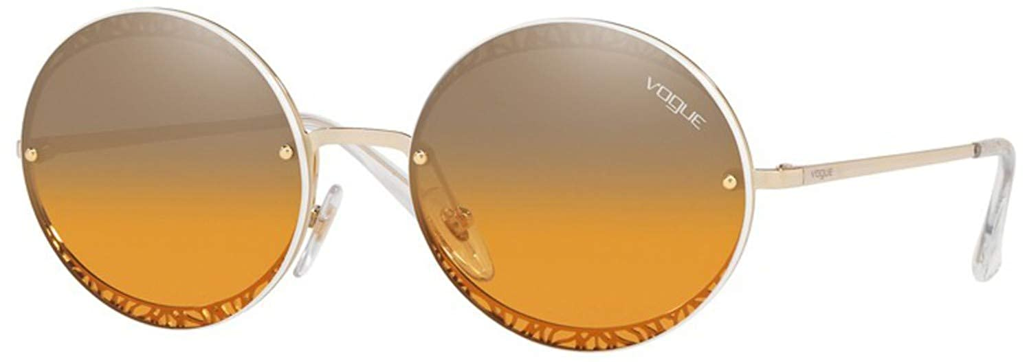 VOGUE Womens 0vo4118s Oval Sunglasses Pale Gold 56 mm
