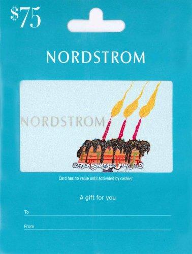 Nordstrom Birthday Gift Card 75 B00GOLHBU6