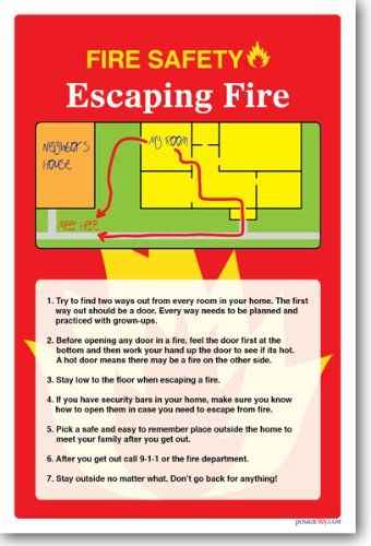 fire safety escaping a fire