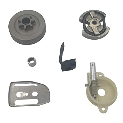 Shioshen Kit de Placa de Embrague Tambor Aceite Bomba Worm Gear Barra.325 7T para