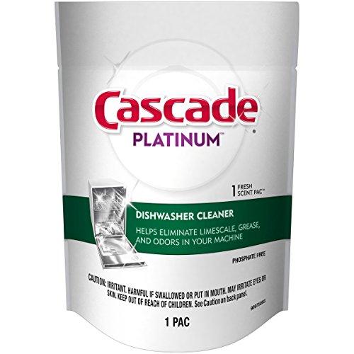 Cascade Platinum Fresh Scent Dishwasher Detergent Cleaner, Count of 1