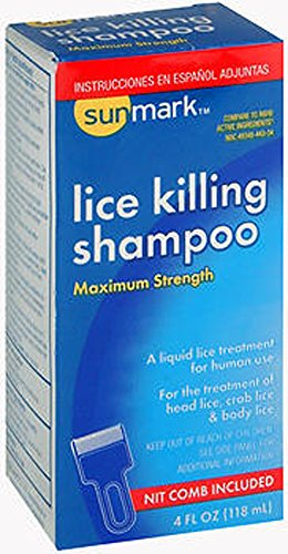 SunMark Lice Killing Shampoo 4 fl oz