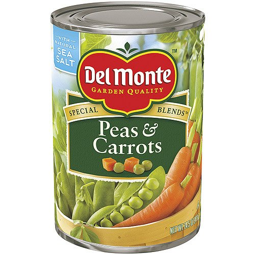 Del Monte, Peas & Carrots, 14.5oz Can (Pack of (Peas & Carrots)