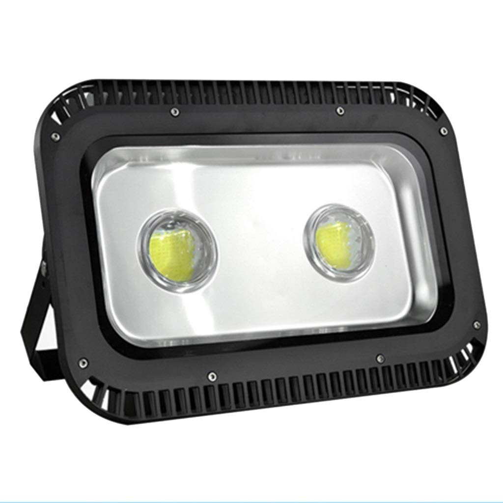 LIGHTZHAO Luce di Inondazione A LED, All'aperto Anno Domini Hotel Palcoscenico Sicurezza Nero 220V Lente Riflettore (colore   Luce Bianca Calda, Dimensioni   200W)